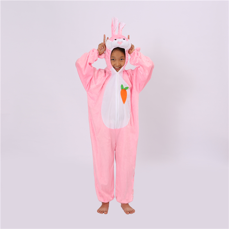 Jumpsuit Clothes Anime Pajamas Adult Onesies Animal Rabbit Cosplay Children Pajamas Sleepwear Halloween Christmas Costumes