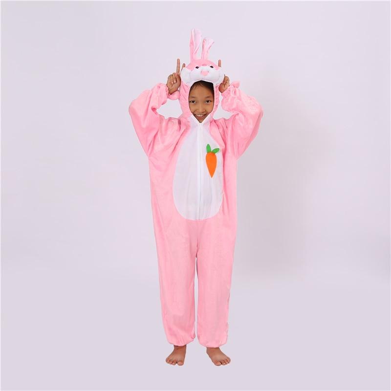 Jumpsuit Clothes Anime Pajamas Adult Onesies Animal Rabbit Cosplay Children Pajamas Sleepwear Halloween Christmas Costumes