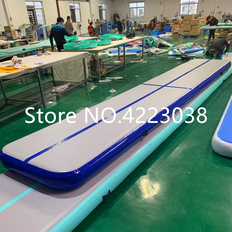 Free Shipping 6m 7m 8m Inflatable Track Gymnastics Mattress Gym Tumble Airtrack Floor Use For Yoga Olympics Tumbling wrestlingFree Shipping 6m 7m 8m Inflatable Track Gymnastics Mattress Gym Tumble Airtrack Floor Use For Yoga Olympics Tumbling wrestling