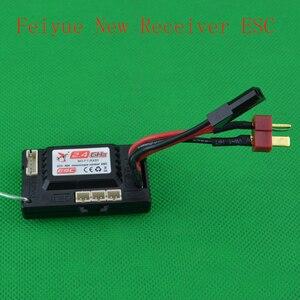 Image 2 - Feiyue FY 01 FY 02 FY 03 JJRC Q39 Q40 1/12 RC araba yedek parçaları yeni sürüm Alıcı ESC FY RX01