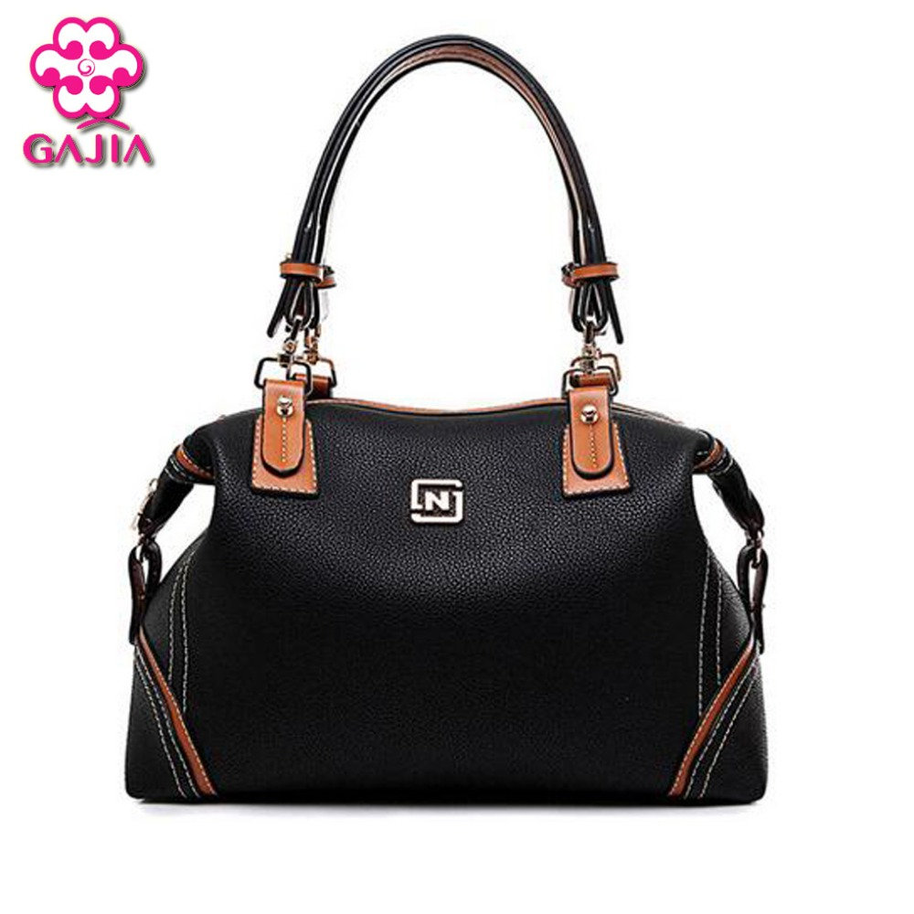 2016 fashion luxury handbags women large capacity casual bag ladies pu leather office tote bags Thread Business Messenger bag wholesale blanks pu faux leather handbags casual tote bag large capacity square satchels bag dom1038113
