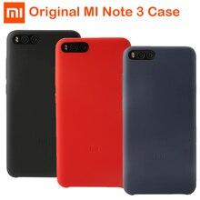 Original Xiaomi Mi Note 3 Case Silicone rubber cover genuine Mi Note3 Silicon comfortable hand feelings Microfibre MiNote3 Cover