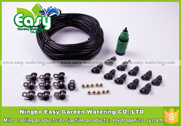 10pcs Nozzles Outdoor Cooling System. Fog Misting System, Patio Cooling,mist  Cooling System