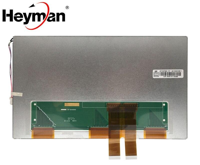 Heyman 10.2 pouce AT102TN03 V.8 AT102TN03 V.9 LCD panneau de l'écran d'affichage De Voiture navigation DVD affichage