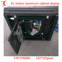 576mm 576mm 32scan P3 aluminum cabinet hd rental screen 111111dots m2