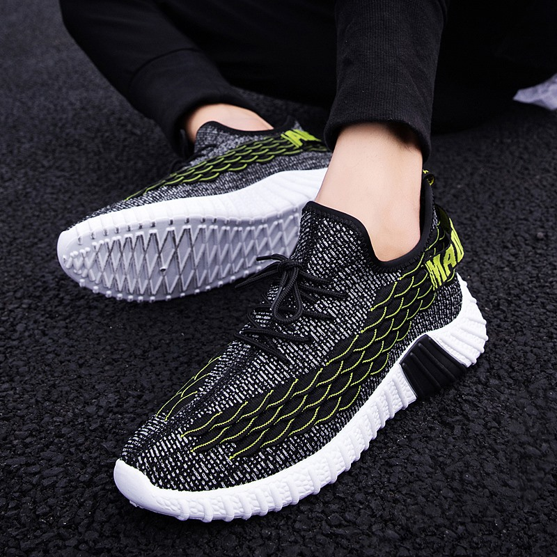 Casual Men Shoes Breathable Walking Sneakers Sport Jogger Lace-up Verano Shoes Men Sneakers Mocassin Basket Hombre Male's Shoes