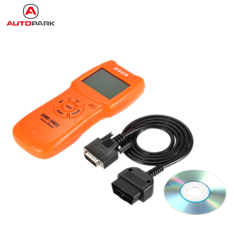 Universal OBD OBDII Auto Car Diagnostic Scan Tool 16-Pin Interface Code Reader Scanner With CD and Cable for Honda Toyota Opel  цены