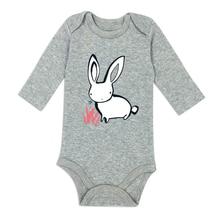 Newborn Bodysuit Baby Girl Boy Clothes 100%cotton Cartoon print Long sleeves Infant Clothing 1Pcs 0-24 months