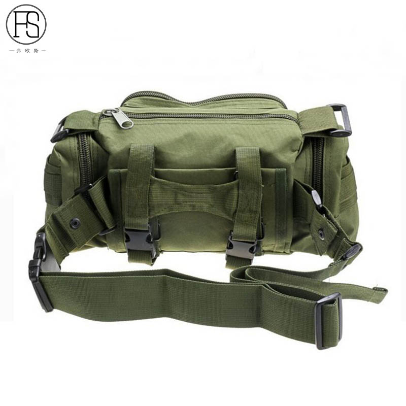 High Quality Outdoor Hunting Hiking Bag Leisure Waist Bag Camouflage Tactical Bag Fishing Bag Sport Shoulder Tavelling Handbag