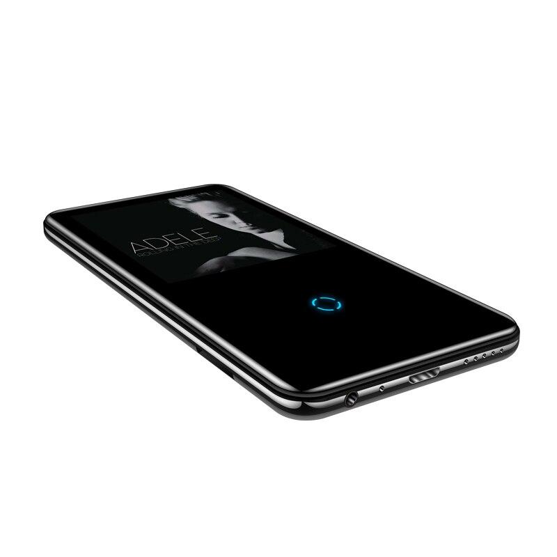 Bluetooth lecteur mp3 2.4 pouces écran tactile intégré haut-parleur avec radio FM/enregistrement Portable mince sans perte son baladeur - 6