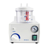 220V Dental Vacuum Phlegm Suction Unit Piston Pump Electric Medical Emergency Sputum Aspirator Machine Equipment 1000mL