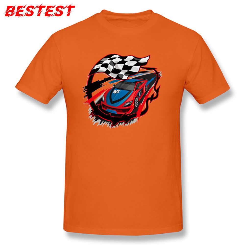 Футболка с рисунком «гонщик», Мужская клетчатый флаг, футболка, бойфренд, Подарочная одежда, мужская синяя футболка, хлопковая ткань, принт автомобиля, топы, мото футболки для байкеров