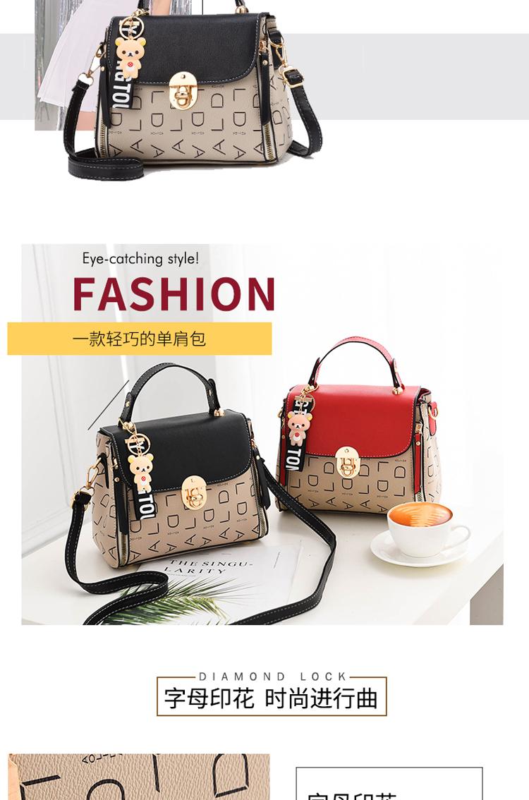 Popular Woman Handbags Fashion Leather Messenger Bag Trendy new one-shoulder diagonal small square bag Bolsa Feminina louis gg 48