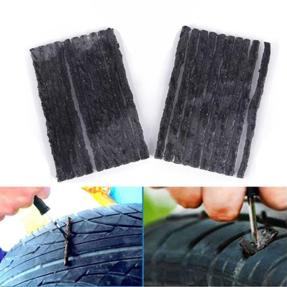 10/20Pcs Quick Repair Recovery Kit Tool Car Bike Auto Motorcycle Truck Tyre Tubeless Seal Strip Plug Puncture Tire Repair Tools