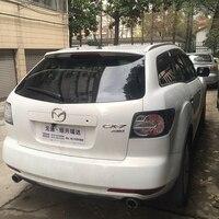 Para Mazda CX-7 Spoiler 2011 2012 2013 2014 Decoração Do Carro Spoiler Traseiro Telhado Asa Cauda Plástico ABS Sem Pintura Primer