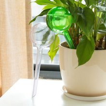 Practical Design PVC Self-Watering System Imitation Glass Ball Plant Waterer Flowers Watering Device Ball Type Drip
