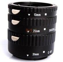 Meike MK-C-AF-B Metal AF Macro Extension Tube Set for Canon EOS Camera