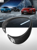 Carbon fiber 2pcs/lot Headlight decoration sticker Light eyebrow double eyelids for 2013 2018 Volkswagen VW Beetle