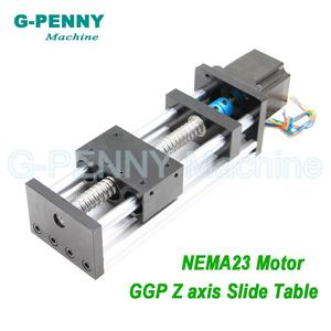 Linear Motion Guide Rail Movin
