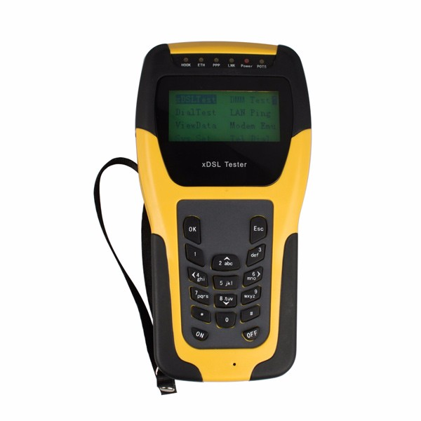 DHL Livraison Senter ST332B De Base VDSL VDSL2 Testeur pour xDSL Ligne test et La Maintenance Outils (ADSL/ADSL2/ ADSL2 +/VDSL2/READSL)