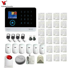 YobangSecurity Wireless WIFI 3G DIY Smart Home Security Alarm Systems Kits Infrared Motion Sensor Door Alert with APP Control