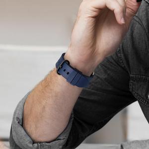 Image 4 - Izle aksesuarları serisi 5 4 3 2 1 için Apple saat kordonları 44mm 42mm & Apple saat kayışı 40mm 38mm kauçuk florokarbon saat kayışı