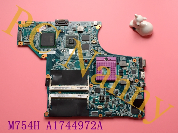 M754H A1744972A MBX-190 For Sony VGN-SR Series Laptop Motherboard S478 PM45