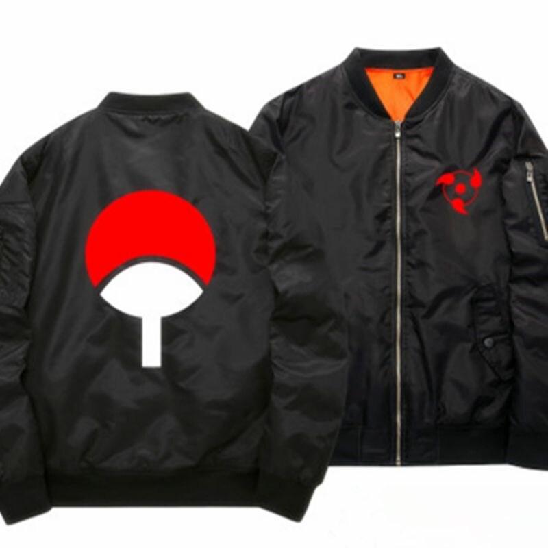 Printemps mince Naruto vestes de Baseball pour hommes Anime Uzumaki Cosplay Costume manteau hommes Zipper Bomber veste lumineuse 121503