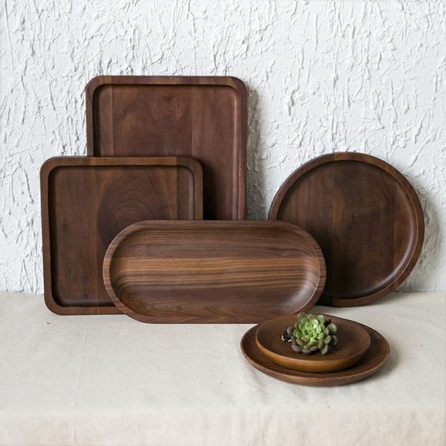 Kitchen Tableware Wooden Pallet Serving Tray Decorative Trays Classy Decorative Wood Serving Trays