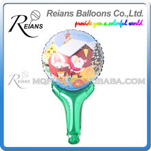 oil Air Balloons christmas Stick Clapper Balloon Big Hand Holding Stick Balloon Baby Toys Birthday Party Supplier(China)