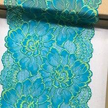 1 ярдов шириной 22 см Высокое качество кружева ткани кружева платье Ткань DIY