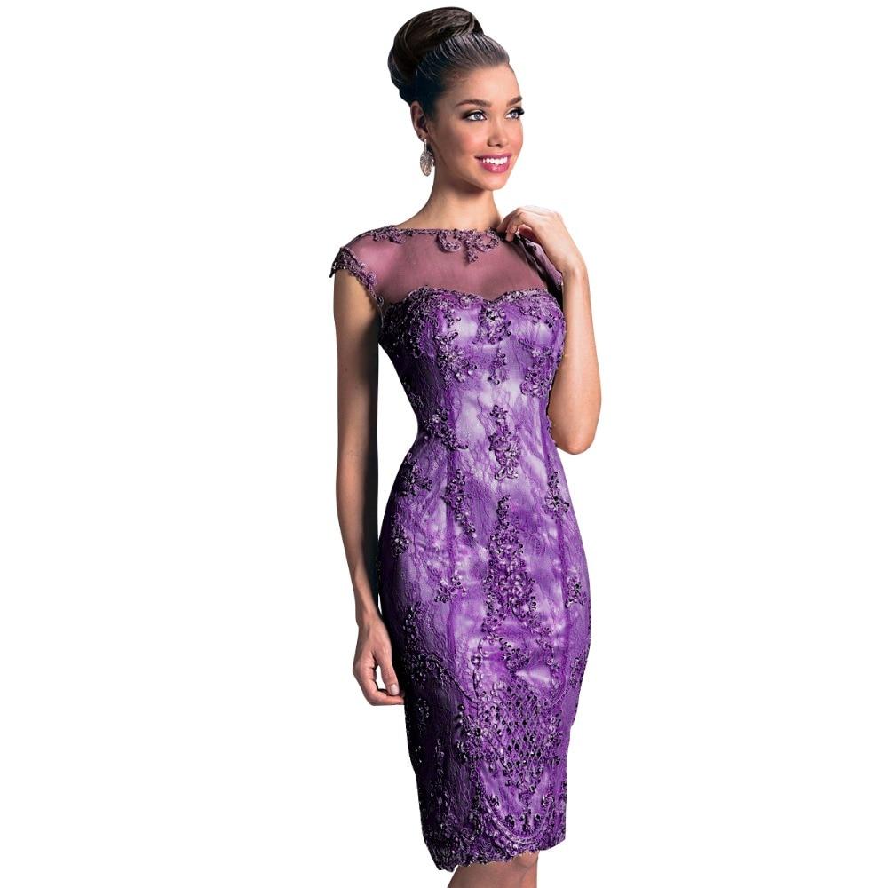 Vestidos de Coctel elegantes Para Las Mujeres de La Envoltura Crew ...