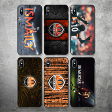 Yinuoda Ukraine FC Shakhtar Donetsk Team Phone Case DIY Picture Soft TPU Cover For iPhone X XR XS MAX 7 8 7plus 6 6S 5S 5 SE