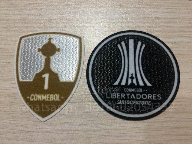 LIBERTADORES CONMEBOL PARCHE CONJUNTO PALMEIRAS SAN LORENZO COPA de 2017  TROFÉU da COPA LIBERTADORES 1 5c7c08da32036