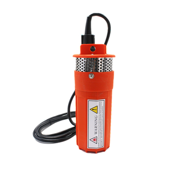 DC 24V 360LPH 70M Lift,Small Submersible Solar energy Water Pump Outdoor Garden Deep Well Car Wash bilge Cleaning 24 v volt,red
