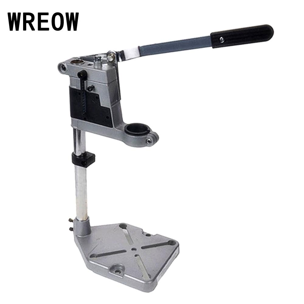 1Piece Power Tools Accessories Bench Drill Press Stand Clamp Frame Derill Chuck for Electric Drill Hand Drill Holder