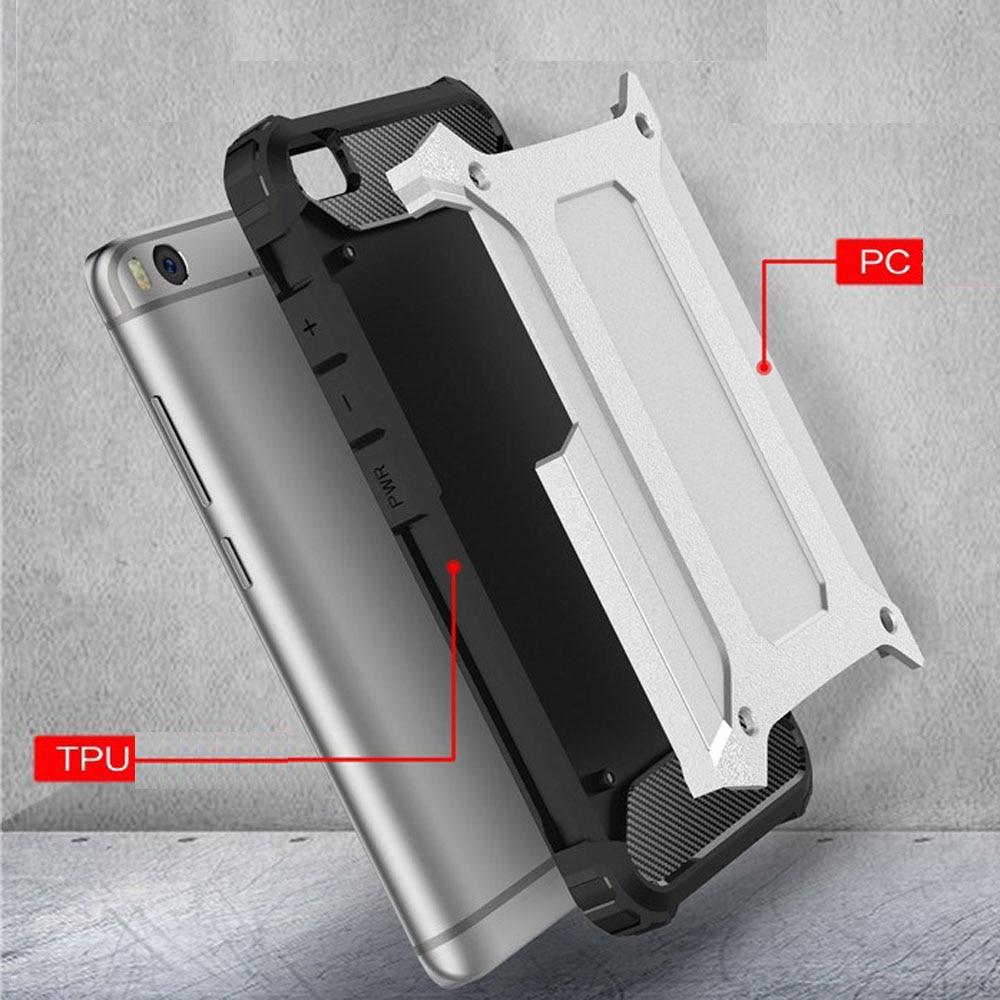 Case for Xiaomi Mi 5 Slim Fit TPU Silicon Hard PC Back Tank Armour - Բջջային հեռախոսի պարագաներ և պահեստամասեր - Լուսանկար 4