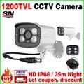 Большая Распродажа! 1/3 cmos 1200TVL Водонепроницаемый IP66 Открытый Безопасности Цвет Cctv Аналоговые Камеры Hd IR-CUT Инфракрасного Ночного видение у Кронштейна