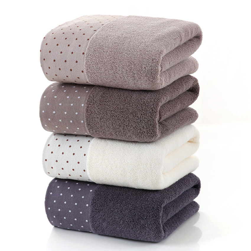 Large Cotton Bath Shower Towel Thick Towels Home Bathroom Hotel For Adults Kids Badhanddoek Toalha de banho Serviette de bain-in Towel Sets from Home & Garden