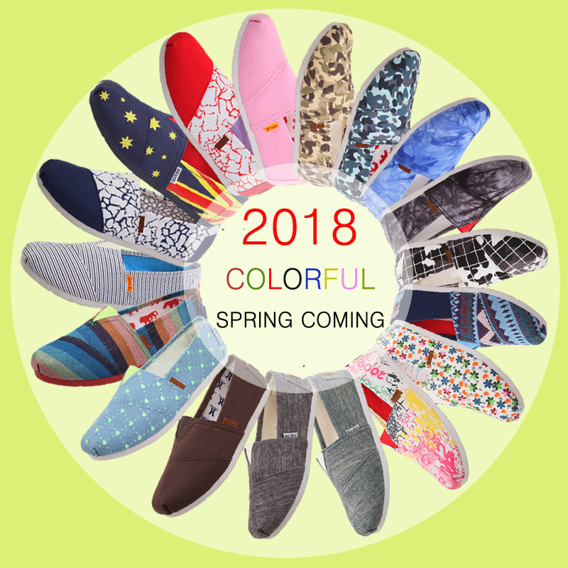 2018 Women's Fashion Flat Shoes Lazy's Espadrilles Women's Canvas Shoes Girl Loafers Espadrilles Women Flats Shoes Size 35-40 fashion tassels ornament leopard pattern flat shoes loafers shoes black leopard pair size 38
