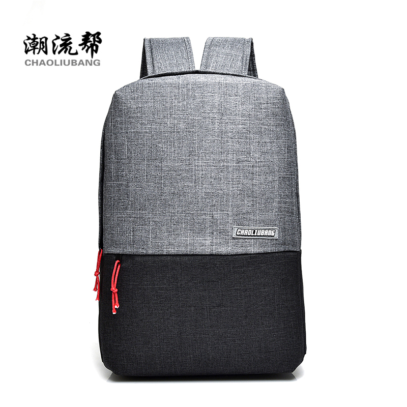 CHAOLIUBANG Brand Backpack Women 15 inch Laptop Business Backpack School Bag for Teenagers Travel Mochila Gray Laptop Backpack tigernu notebook laptop backpack 15 6 inch school bag for teenagers men business travel backpack book bag mochila free gift