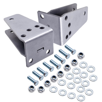 """Front Axle Pivot Drop Bracket Kit for Ford F250 4WD 1980-1998 only 2-3"""" Lifts"""