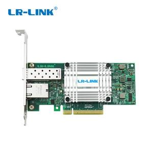 Image 2 - LR LINK 4001PT PF dual port 10 Gb Ethernet PCI E Optic การ์ดเครือข่าย SFP +, RJ45, fiber Media Converter สาม   ใน   หนึ่งชุด