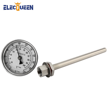 Stem-Thermowell-Kit Fermentation Stainless-Steel Brewing-Accessories Beer Home with 1/2'-Npt