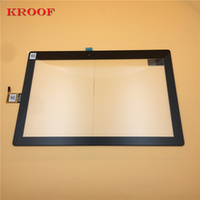 For Lenovo Tab 3 10 Plus TB-X103F Touch Screen Digitizer Glass Panel Sensor Black 10 1inch lcd display touch screen digitizer with frame matrix for lenovo tab 3 10 plus tb x103f lcd module screen panel