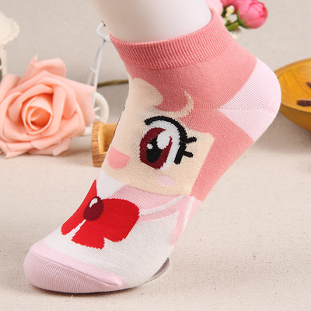 Unterwäsche & Schlafanzug Freundschaftlich Sommer Cartoon Baumwolle Dünne Frauen Boot Socken Kreative Casual Baumwolle Lustige Tiere Socken Weibliche Nette Kawayi Mädchen Hausschuhe Socke
