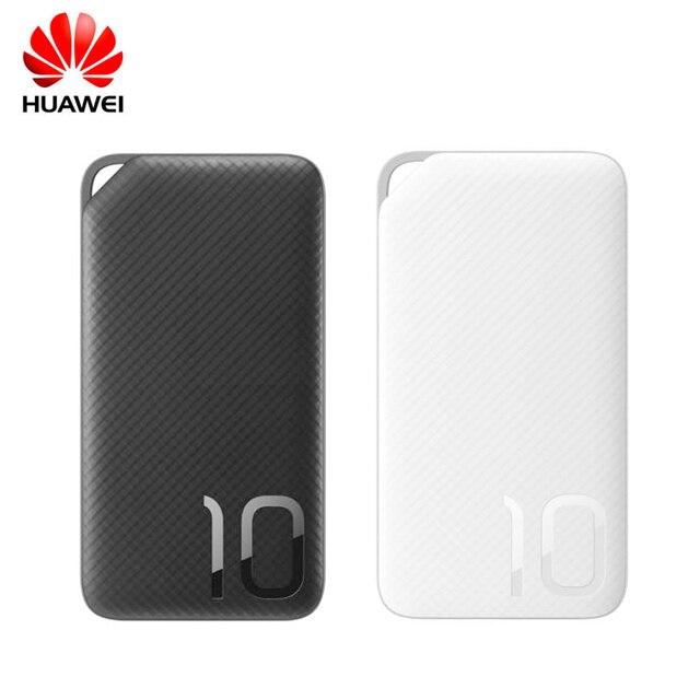 Huawei電源銀行ap08q双方向クイック充電10000 mahポータブル外部電源タイプc/micro usbサポート9ボルト/2a 5ボルト/2a