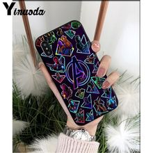 Yinuoda Marvel Superheroes The Avengers Customer High Quality Phone Case for iPhone 6S 6plus 7 7plus 8 8Plus X Xs MAX 5 5S XR