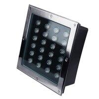 24W conduziu a lâmpada subterrânea AC85 265V IP66 12V ao ar livre à prova d' água LED Lâmpada Subterrânea Enterrado Quintal Gramado Luz Paisagem Do Jardim caminho|Lâmpadas subterrâneas| |  -