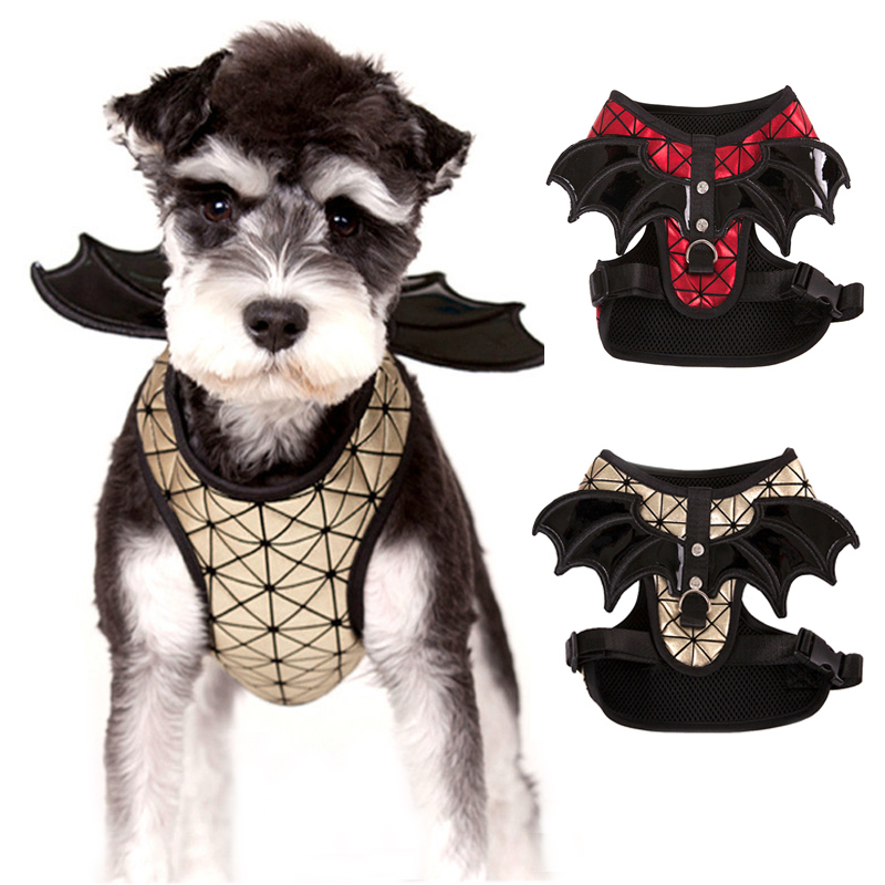 Lovely Batman Dog Harness Leash Set for Small Dogs Personalized Adjustable Pet Harness Leads Vest Cosplay Costume ...  sc 1 th 225 & Lovely Batman Dog Harness Leash Set for Small Dogs Personalized ...